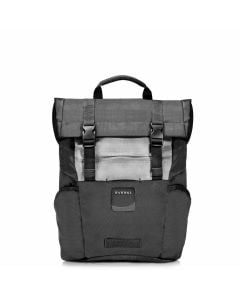 EVERKI ContemPRO Roll Top 15 Inch Black Laptop Backpack