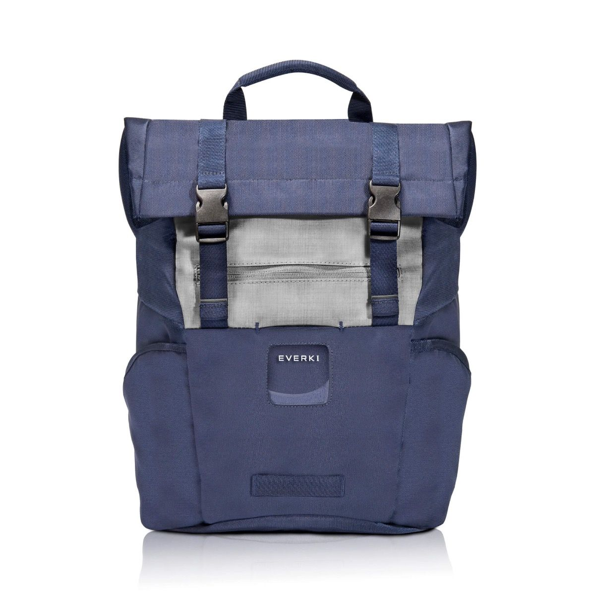 EVERKI ContemPRO Roll Top 15 Inch Navy Laptop Backpack