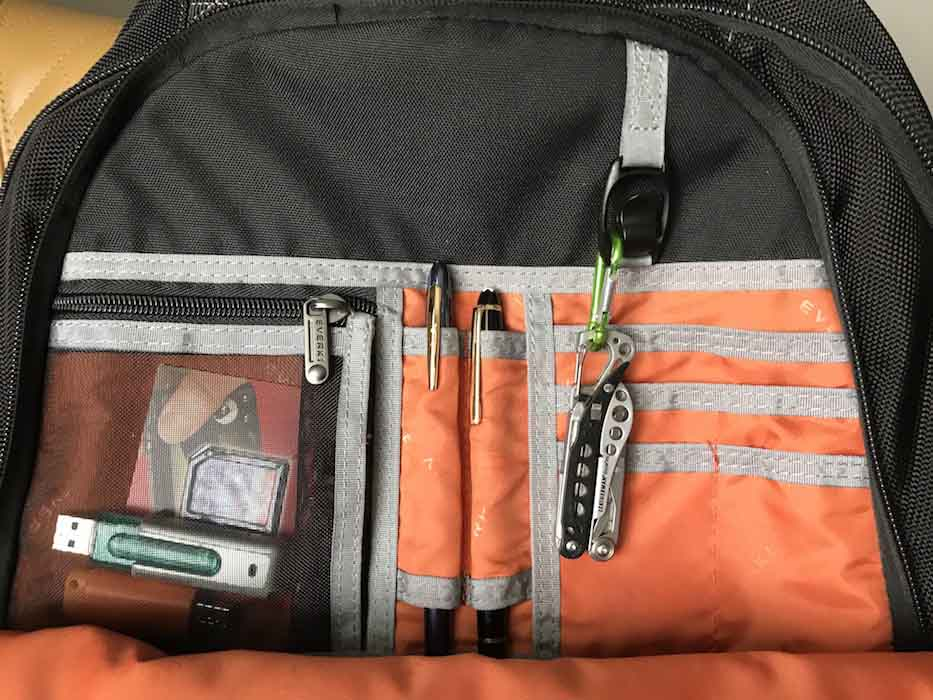 Atlas Laptop Backpack Packing