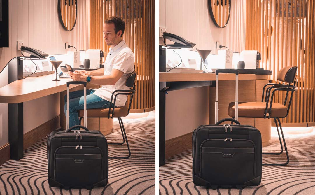 Journey Laptop Trolley Rolling Briefcase