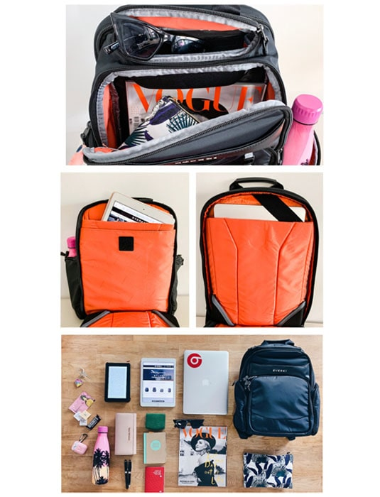 Suite Laptop Backpack Packing
